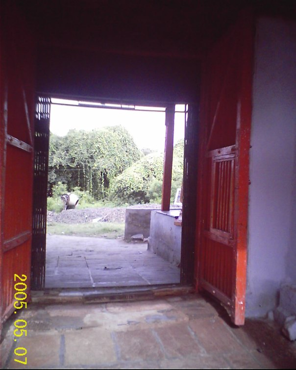 gates of temple complex at bet